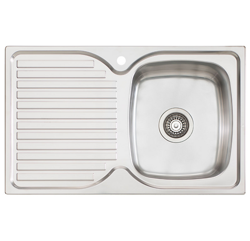 Finista Sink Single Bowl & Drainer RHB (1486465)
