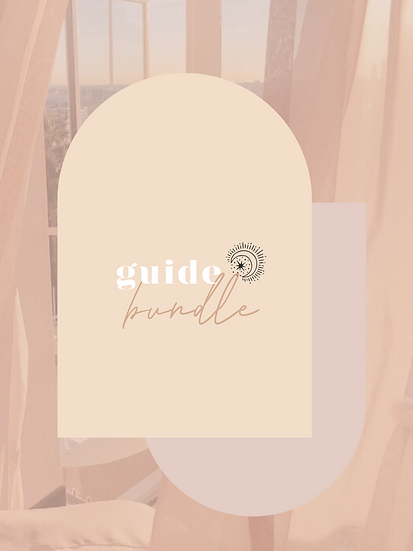 Guide Bundle: Breathwork, Procrastination + Indecision