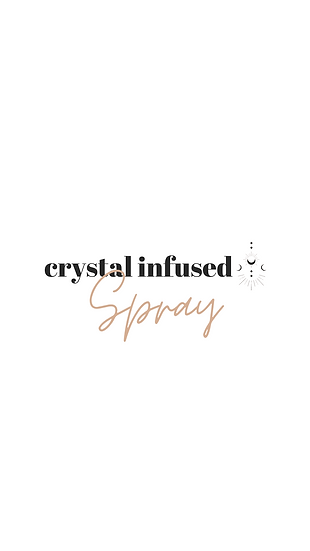 Crystal Infused Spray