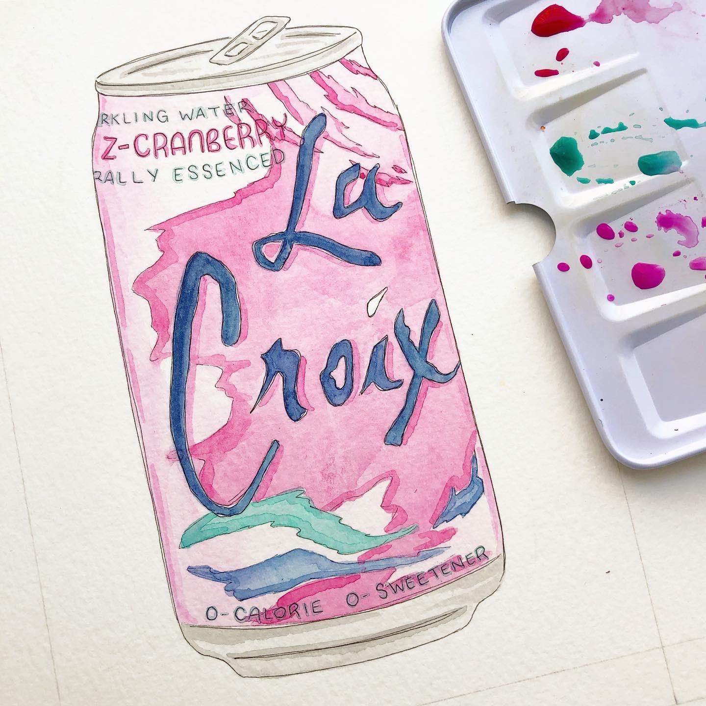 Razz-Cranberry La Croix