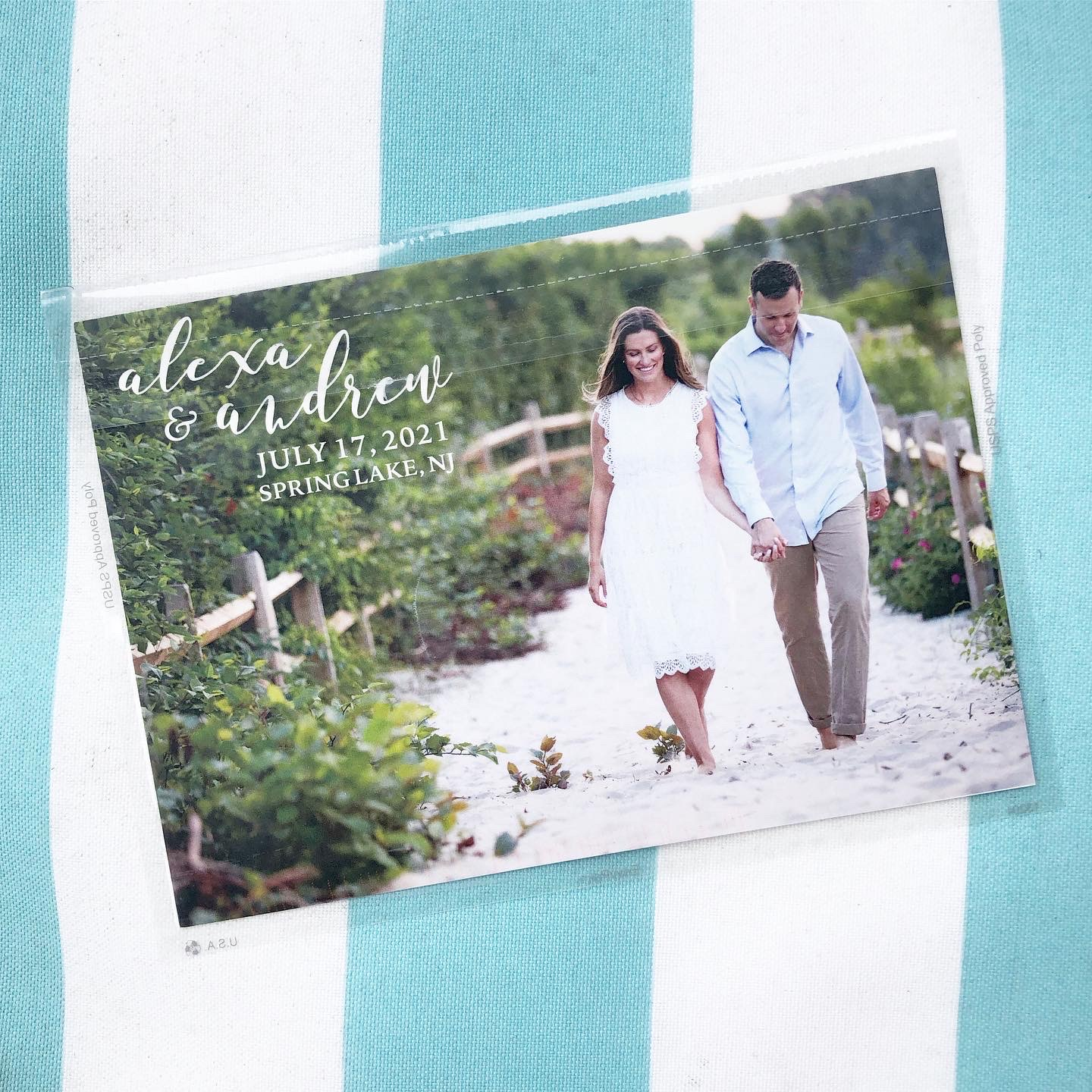 Alexa + Andrew Save the Date Front