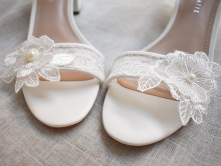 How I Made My Own Wedding Shoes