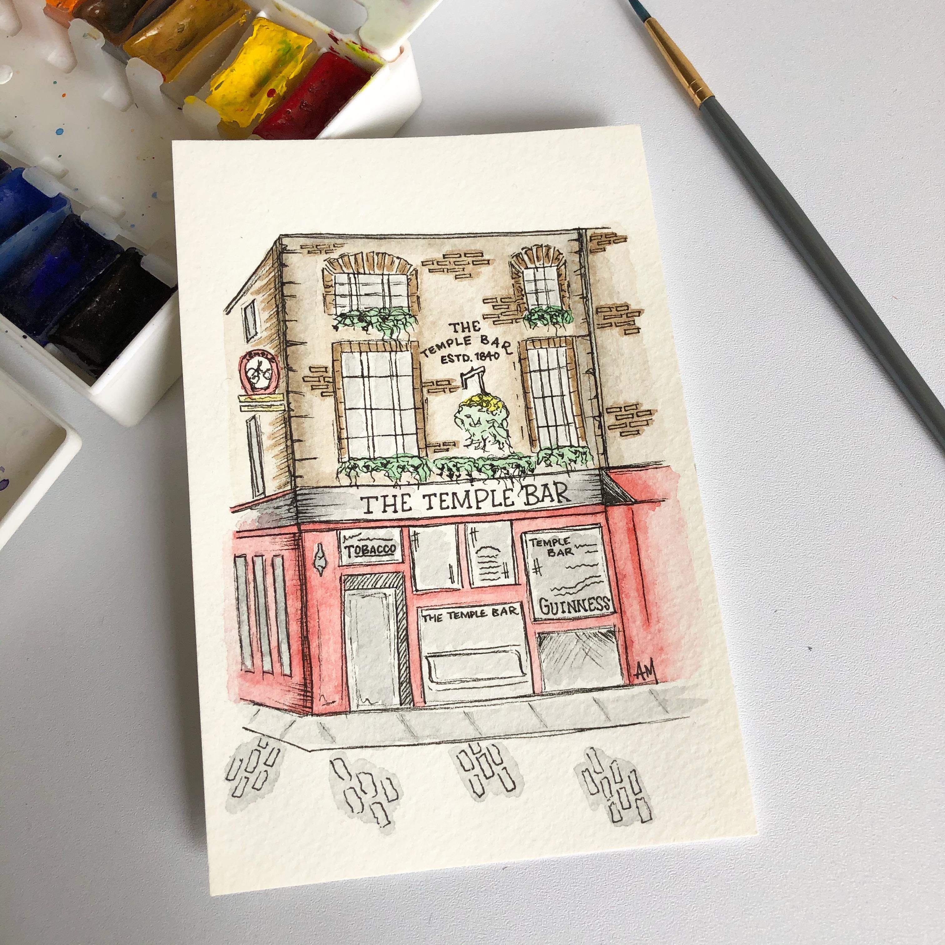 The Temple Bar-Dublin, Ireland