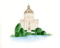 Saint Catharine Church Venue Painting