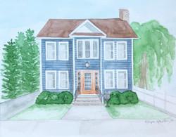 Custom Home Portrait, April 2021.
