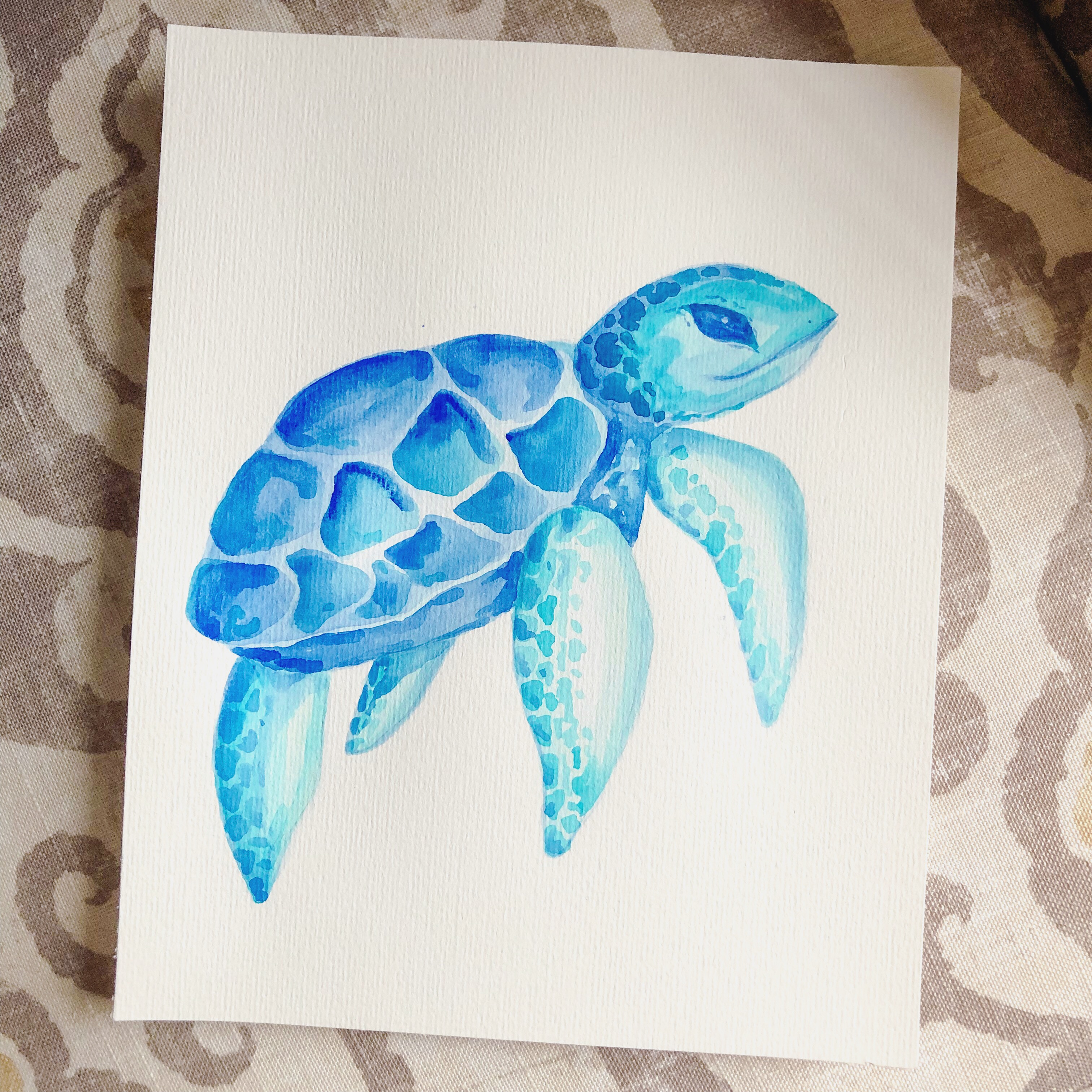 Sea Turtle Blues