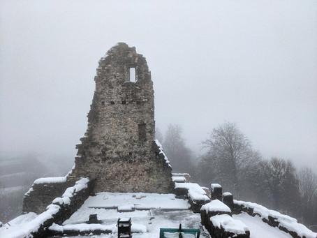 Durch den Nebel zur Ruine Farnsburg