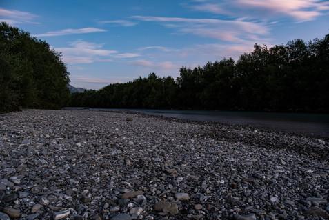 Sommer-Steine-Fluss-Iller-Sonthofen-Oberallgäu-Deutschland-Andreas-Gärtner-Kaufbeuren-Foto