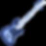 Sunburst Finish Electric Bass Guitar Iso