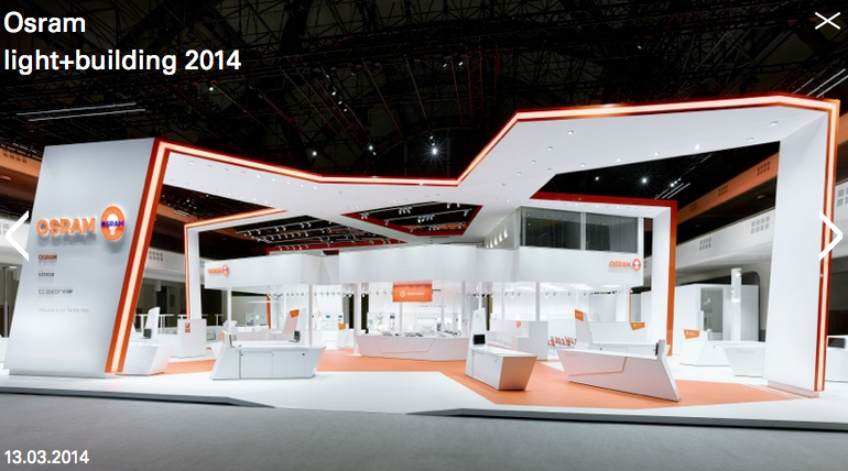 Osram light+building 2014