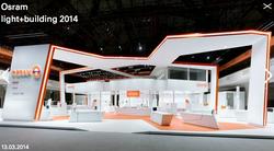 Osram light+building 2014