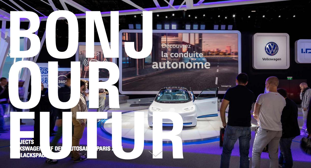 Volkswagen Autosalon Paris