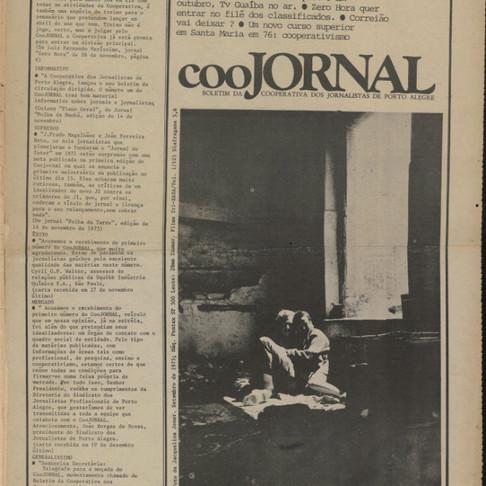 Os boletins do Coojornal: as origens de um jornal alternativo