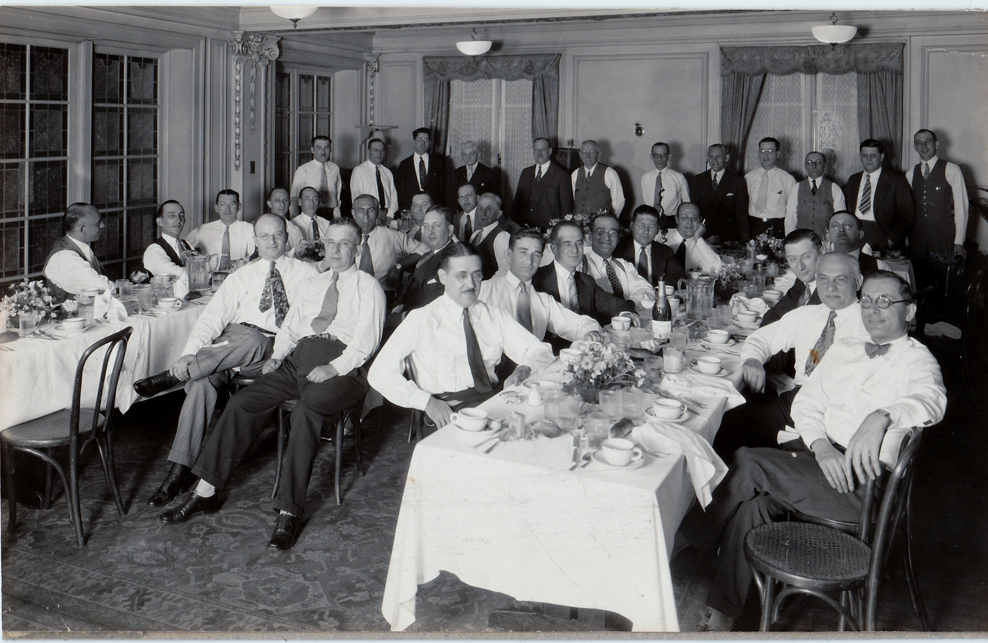 1931 Harmonie Club gathering Hotel Brunswick IDs page 91 in Jews of Lancaster