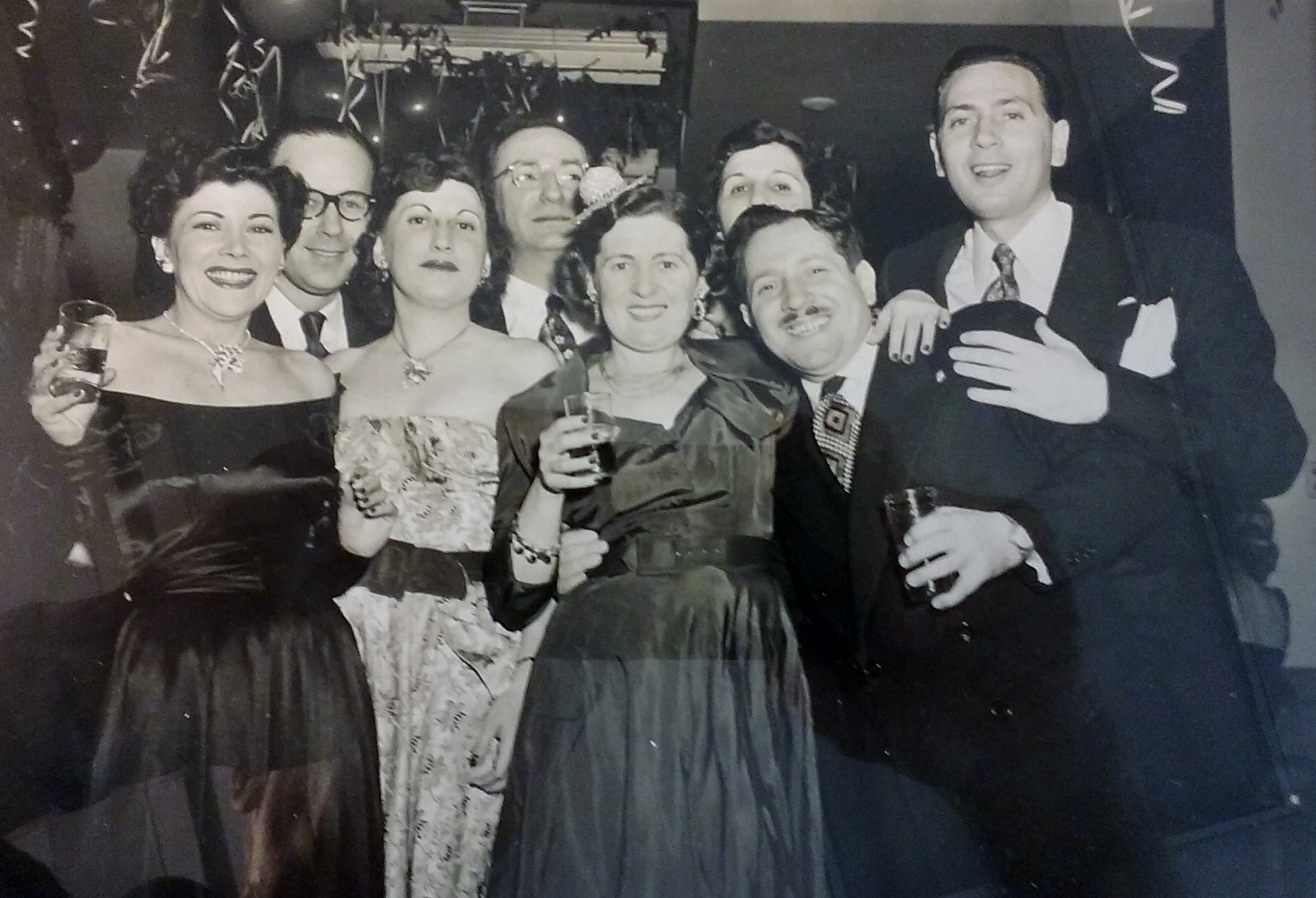 1952 Circa New Year's Party