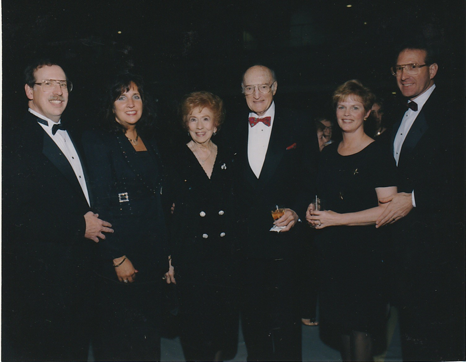 1997 Loss family at June 7th Anniversary Gala Stuart and Shelly, Natalie and Nat, Karen and Alan.