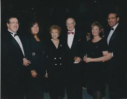 1997 Loss family at June 7th Anniversary Gala Stuart and Shelly, Natalie and Nat, Karen and Alan.