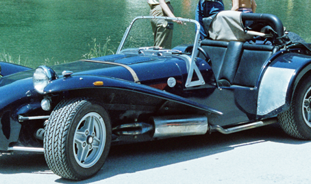 The only street legal formula car - Lotus Seven -  the story of a 7-Buyer 1978