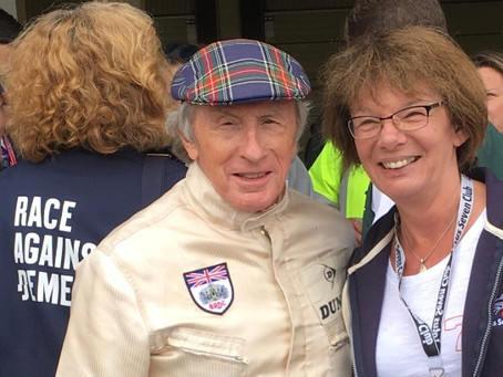 Sir Jackie Stewart speaks to us...