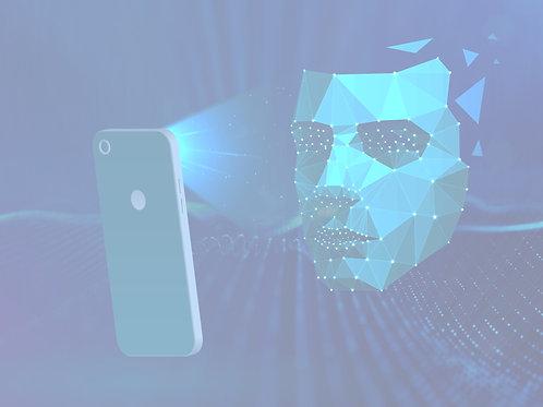 Image représentant une technologie de reconnaissance faciale pour la ressource «Dans ta face»