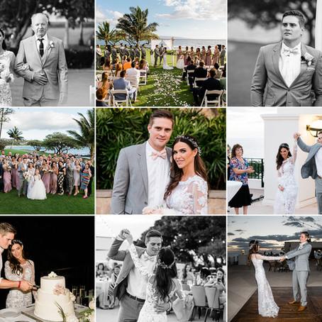 Maui Wedding Planner & Packages | Blaklee & Willie ~ Married at Wailea Beach Resort