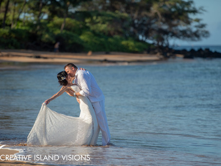 Jaime & Stuart ~ Day After Wedding Photography Session at Ulua Beach