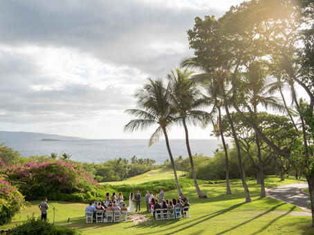 Cynthia & Justin~ Married at Gannon's Wailea