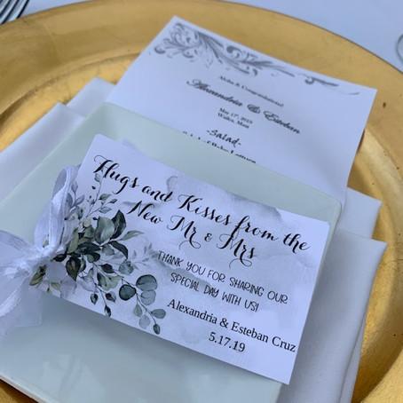 Maui Wedding Planner & Packages | Alexandria and Esteban ~ Wedding Reception at Gannon's Wailea
