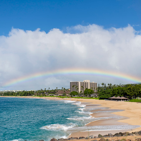 Maui Wedding Planner & Packages | Carly & Mike ~ Married at the Royal Lahaina, Maui