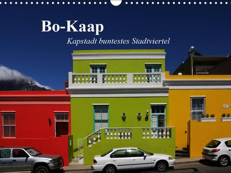 Kalender über Kapstadt buntestes Stadtviertel: Bo-Kaap