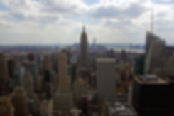 TOP OF THE ROCK, ROCKEFELLER CENTER, NEW YORK