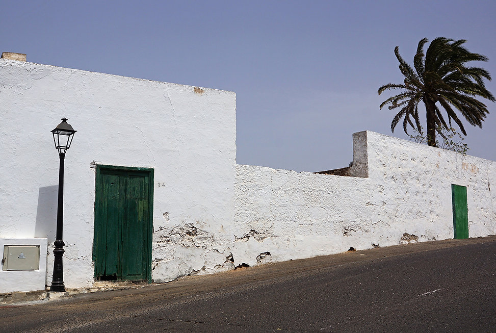 Lanzarote, Spain, on the road,