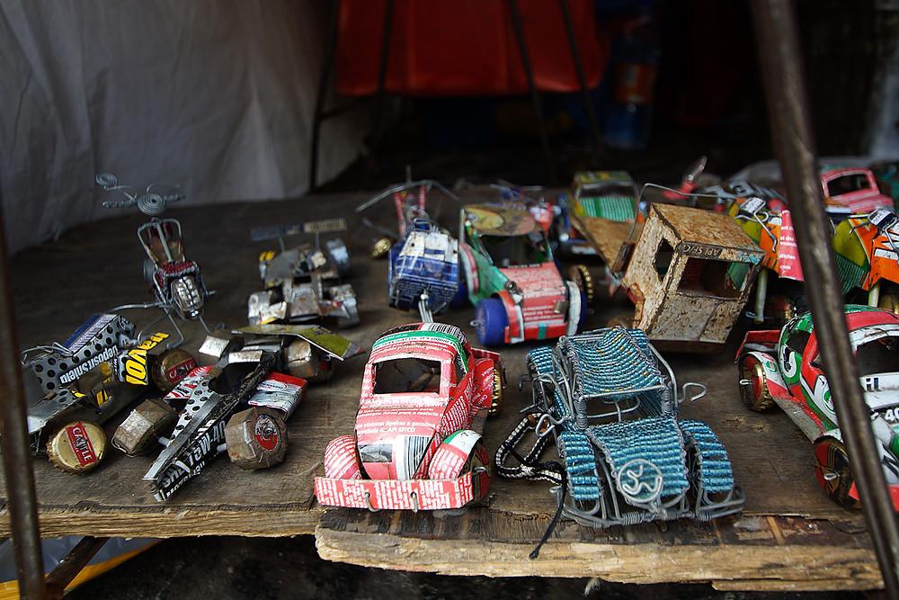 Typisch afrikanisches Spielzeug