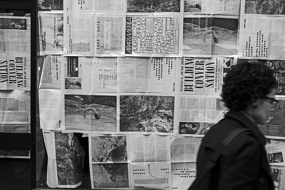 Schaufenster; Zeitungsartikel