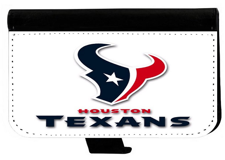 HOUSTON TEXANS IPHONE OR GALAXY CELL PHONE CASE WALLET