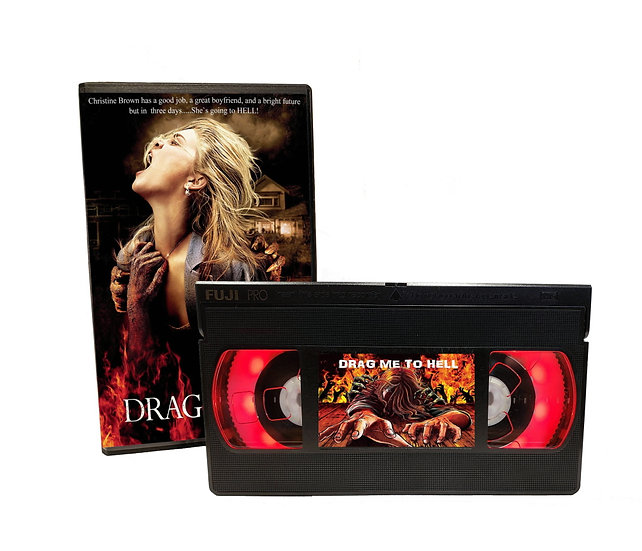 DRAG ME TO HELL VHS MOVIE NIGHT LIGHT