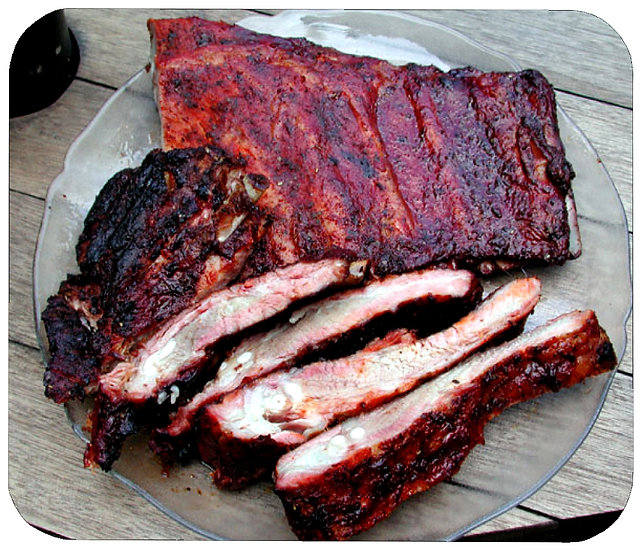BARBEQUE RIBS MOUSEPAD