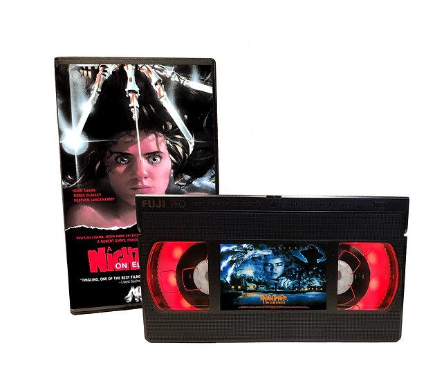A NIGHTMARE ON ELM STREET VHS MOVIE NIGHT LIGHT