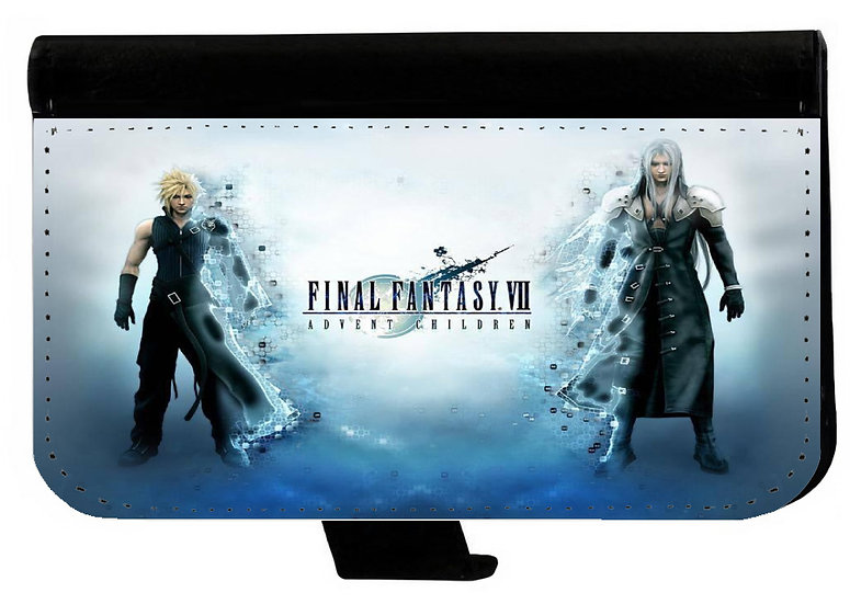 FINAL FANTASY (bl) - LEATHER WALLET