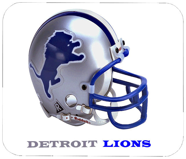 DETROIT LIONS MOUSE PAD