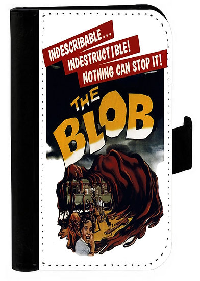 THE BLOB IPHONE OR GALAXY CELL PHONE CASE WALLET