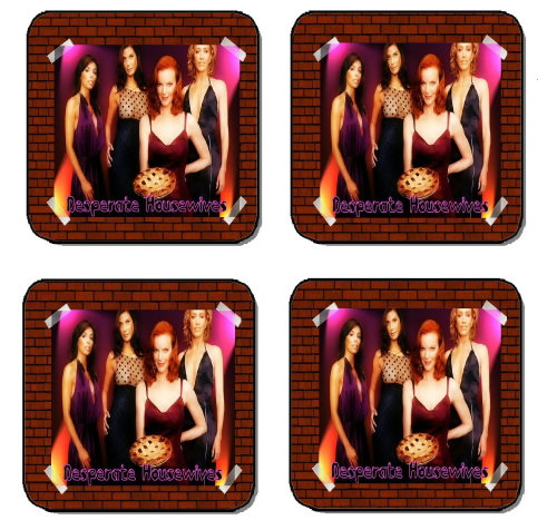 DESPERATE HOUSEWIVES BEVERAGE COASTERS