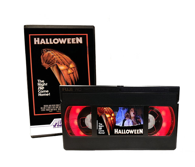 HALLOWEEN VHS MOVIE NIGHT LIGHT
