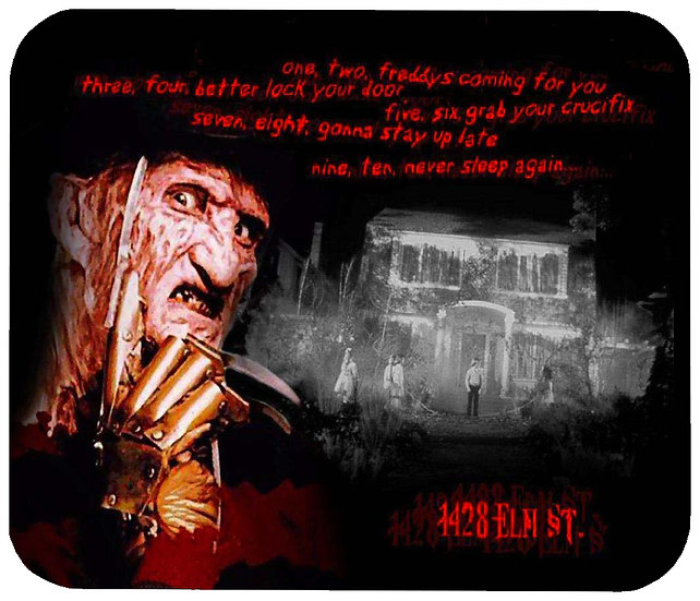 A NIGHTMARE ON ELM ST MOUSE PAD