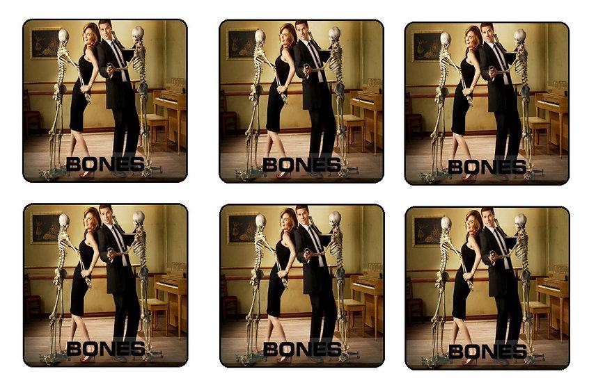 BONES BEVERAGE COASTERS