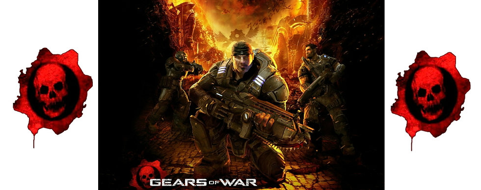 GEARS OF WAR CERAMIC MUG
