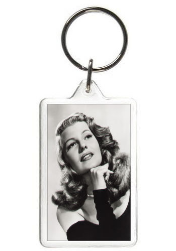 RITA HAYWORTH KEY CHAIN - (BLK)