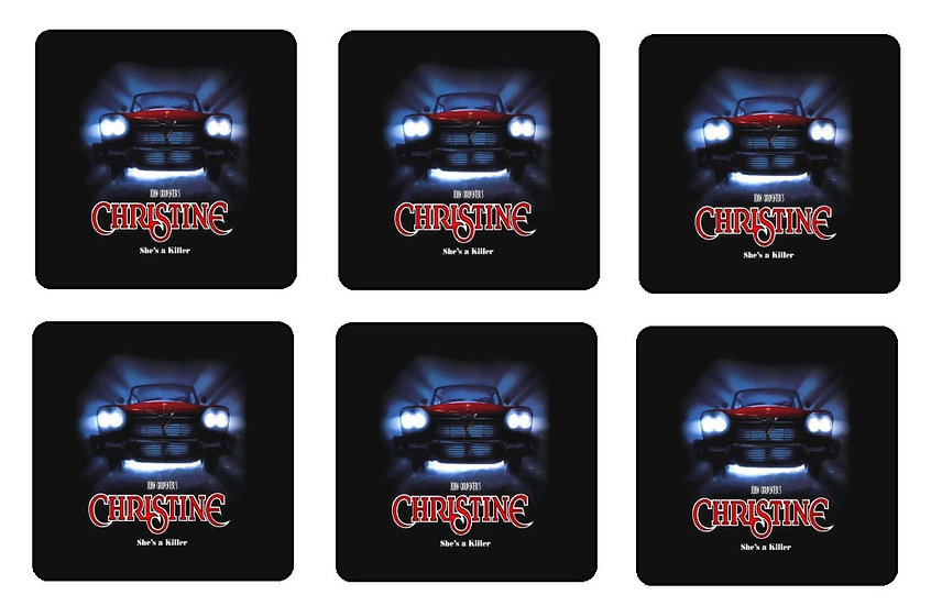 CHRISTINE BEVERAGE COASTERS