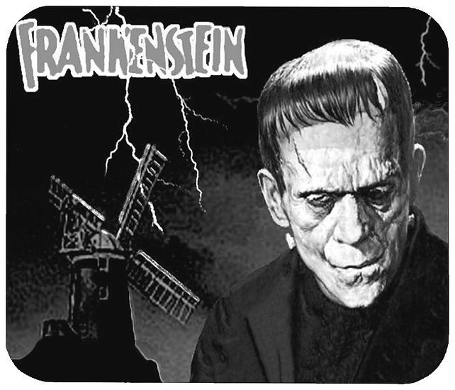 FRANKENSTEIN (WIN) MOUSE PAD