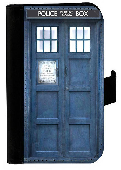 DOCTOR WHO TARDIS (og) - LEATHER WALLET